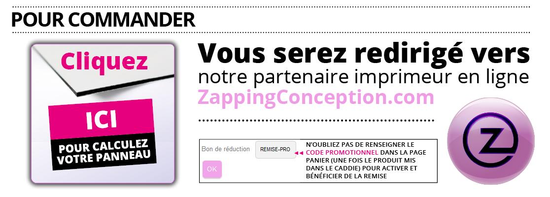 Imprimerie Gironde panneau et enseigne - revendeur